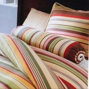 POTTERY BARN TWIN DUVET + SHAM